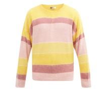 Drussellh Striped Mohair-blend Sweater