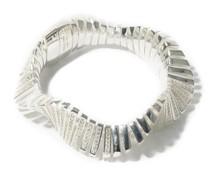 Crystal-embellished Sterling-silver Bracelet