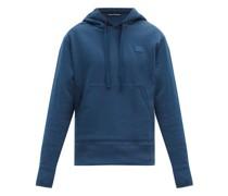 Ferris Face-appliqué Cotton Hooded Sweatshirt