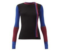 Amis Colour-block Sweater