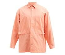 Lineman Patch-pocket Cotton-oxford Shirt