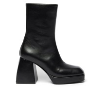 Bulla Corta Leather Ankle Boots