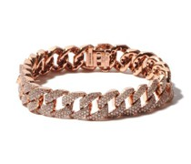 Diamond & 18kt Rose-gold Bracelet