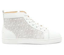 Louis High-top Leather Trainers