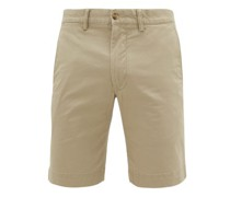 Logo Cotton-blend Chino Shorts