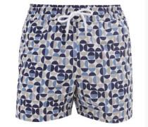 Shade Mosaic-print Swim Shorts
