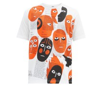 Real Review-print Cotton-jersey T-shirt