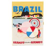 Braniff International Airways Embroidered Clutch