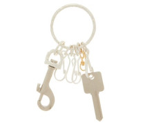 Sterling-silver Utility Key Ring