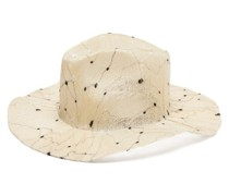Norma Embroidered-sisal Hat
