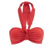 Veronica Gathered Bandeau Bikini Top