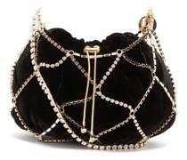Crystal-embellished Cross-body Bag
