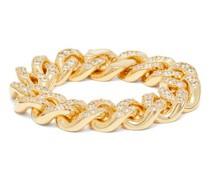 Pavé-crystal Chain Bracelet