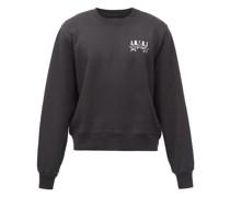 Bandana Stars Logo-print Cotton-jersey Sweatshirt