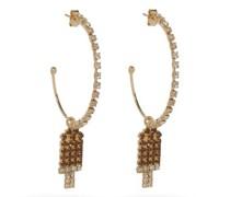 Gelateria Crystal Hoop Earrings