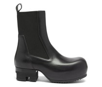 Beatle Ballast Leather Platform Chelsea Boots