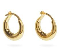 Tiny Essentials 18kt Gold-vermeil Hoop Earrings