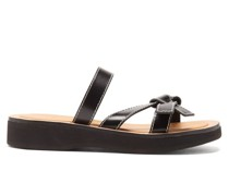 Gate Leather Flatform Sandals