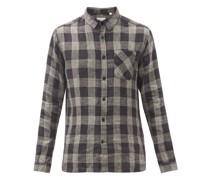 New York Special Check Linen Shirt