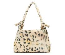 Lady Tec Leopard-print Padded Shoulder Bag