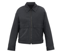 Patch-pocket Technical Jacket
