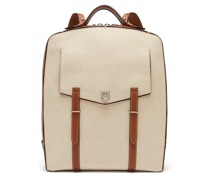 Rider Linen-canvas Backpack