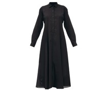 Fallon Cotton-voile Shirt Dress