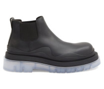 Bv Tire Transparent-sole Leather Chelsea Boots