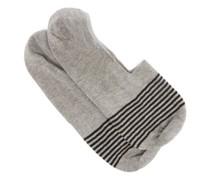 Sienna Striped Egyptian-cotton Blend Socks
