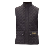 Diamond-quilted Shell Gilet