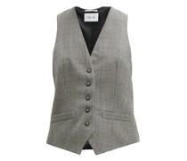 Prince Of Wales-check Wool Waistcoat