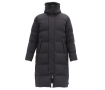 Hooded Quilted-shell Coat
