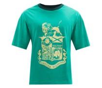 Johnson Crest-print Organic Cotton-jersey T-shirt