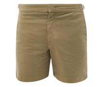 Bulldog Cotton-blend Shorts