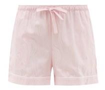 Paris 20 Cotton-jacquard Pyjama Shorts