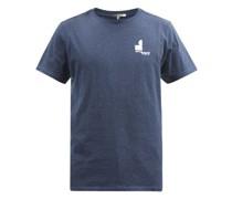 Zafferh Logo-print Organic Cotton-jersey T-shirt