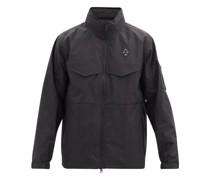 Rhombus Logo-jacquard Cotton-blend Jacket