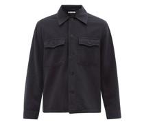 Evening Brushed Cotton-moleskin Jacket