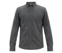 Button-down Cotton-twill Shirt