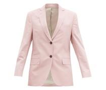 Charlene Single-breasted Cotton-twill Jacket