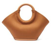 Cabassa Round-handle Canvas Tote Bag