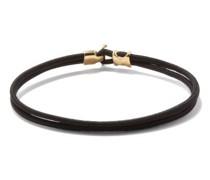 Orson Gold-vermeil & Cord Bracelet