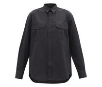 Release 03 Oversized Cotton-poplin Shirt