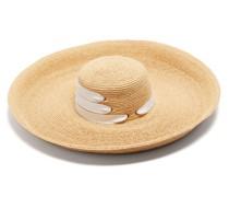 Espartina Grosgrain-trim Raffia Hat