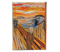 Edvard Munch The Scream Embroidered Book Clutch