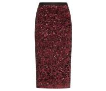 High-rise Sequinned Pencil Skirt