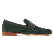 Hendra Suede Penny Loafers