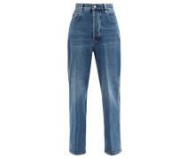 Kim Studded Straight-leg Jeans