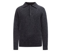 Ghost Point-collar Wool Sweater