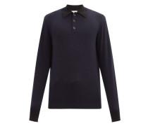 Pablo Wool Long-sleeve Polo Shirt